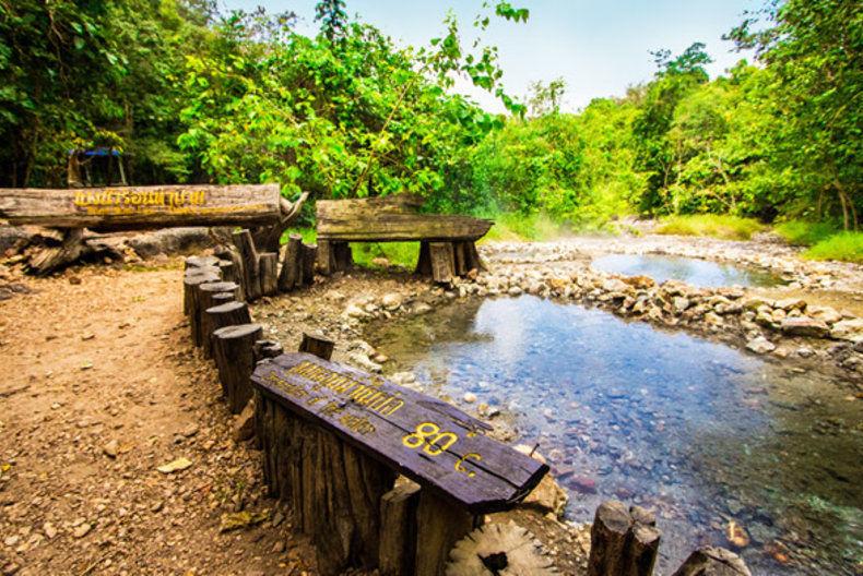 อาบน้ำแร่ ออนเซ็น เมืองไทย